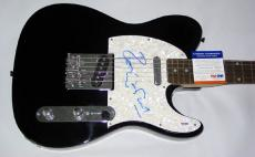 Ronnie Wood Autographed Signed Pearl Guitar PSA/DNA COA   AFTAL