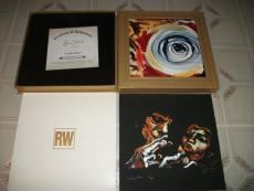 "Ronnie Wood Rolling Stones Lucky Man 12"" Signed #'d Set"