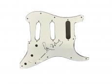 Ronnie Wood ROLLING STONES Signed Fender Strat Pick Guard JSA