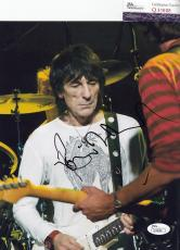 Ronnie Wood signed autographed Rolling Stones 8x10 photo JSA Authentic Q30688