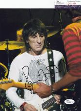Ronnie Wood signed autographed Rolling Stones 8x10 photo JSA Authentic Q30689