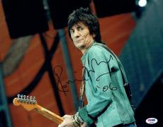 Ronnie Wood Signed Rolling Stones Authentic 11x14 Photo PSA/DNA #P24781