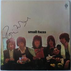 Ronnie Wood Signed Small Faces Authentic Album Cover w/ Vinyl PSA/DNA #AB25196
