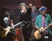 Ronnie Wood The Rolling Stones Signed 11X14 Photo BAS #B03570
