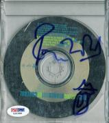 Ronnie Wood The Rolling Stones Signed Cd Case W/ Hand Drawn Sketch PSA #X31596