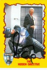 Ronny Cox autographed trading card Robocop