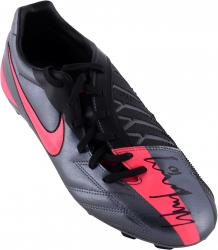 Wayne Rooney Autographed Nike T90 Pink/Gray Boot