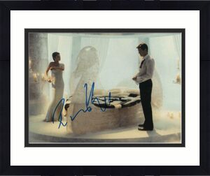 ROSAMUND PIKE SIGNED AUTOGRAPHED 11x14 PHOTO - DIE ANOTHER DAY, PIERCE BROSNAN