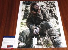 Rose Leslie Signed 11x14 Game of Thrones w/Character Name Ygritte PSA/DNA
