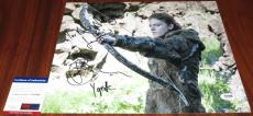 Rose Leslie Signed 11x14 Game of Thrones w/Quote & Character Name PSA/DNA