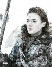 Rose Leslie (Ygritte) Signed Game of Thrones Auto 11x14 Photo PSA/DNA #AB39522