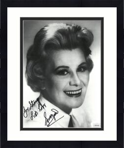 Rose Marie signed Vintage B&W 8x10 Photo To Steve Lots Love- JSA Hologram #DD39330 (Sally Rogers/Dick Van Dyke)