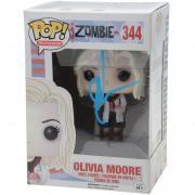 Rose McIver iZombie Autographed #344 Olivia Moore Funko Pop! - JSA