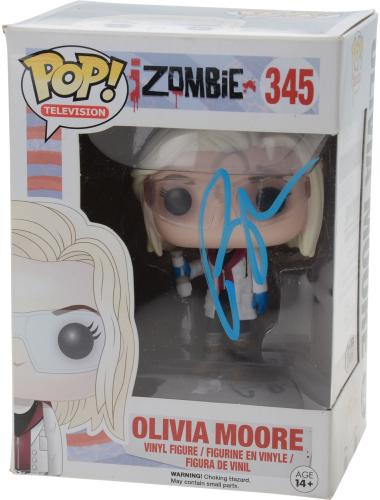 Rose McIver iZombie Autographed #345 Olivia Moore Funko Pop! - JSA