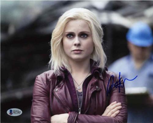 Rose McIver iZombie Autographed Signed 8x10 Photo Beckett Authentic BAS COA