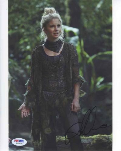 Rose McIver Once Upon a Time Autographed Signed 8x10 Photo Certified PSA/DNA
