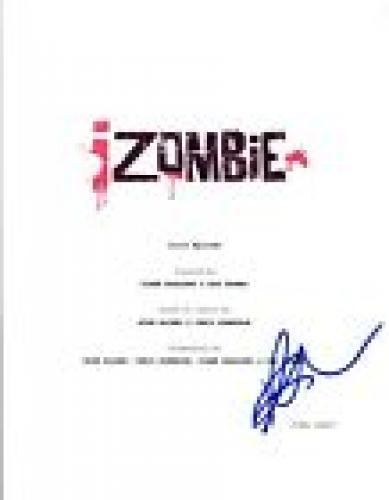 Rose McIver Signed Autographed iZOMBIE Pilot Episode Script COA VD