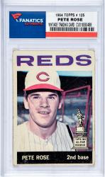 ROSE, PETE (1964 TOPPS # 125) CARD - Mounted Memories