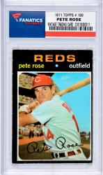 ROSE, PETE (197 TOPPS # 100) CARD - Mounted Memories