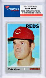 ROSE, PETE (1970 TOPPS # 580) CARD - Mounted Memories