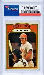 ROSE, PETE (1972 TOPPS I.A. # 560) CARD - Mounted Memories