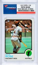 ROSE, PETE (1973 TOPPS # 130) CARD - Mounted Memories