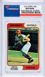 ROSE, PETE (1974 TOPPS # 300) CARD - Mounted Memories