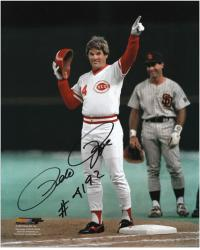 "Pete Rose Cincinnati Reds 4192 Hit Autographed 8"" x 10"" Photograph with ""#4192"" Inscription"