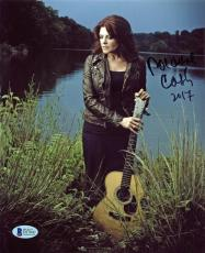 Roseanne Cash (Johnny Cash's Daughter) Signed 8x10 Photo BAS #D17042