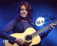 Roseanne Cash (Johnny Cash's Daughter) Signed 8x10 Photo BAS #D17043