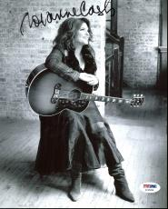 Roseanne Cash (Johnny Cash's Daughter) Signed 8X10 Photo PSA #AC45258