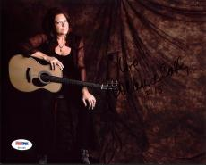 Roseanne Cash (Johnny Cash's Daughter) Signed 8X10 Photo PSA #Z91359