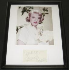 Rosemary Clooney Signed Framed 11x14 Photo Display White Christmas B