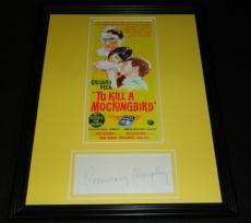 Rosemary Murphy Signed Framed 11x14 Photo Poster Display To Kill a Mockingbird