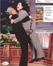 Rosie O Donnell & Jay Leno Jsa Coa Signed Autographed 8x10 Photo A