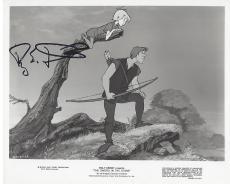 ROY E. DISNEY - SENIOR EXECUTIVE for 'THE WALT DISNEY COMPANY' (NEPHEW of WALT DISNEY) Passed Away 2009 Signed 10x8 B/W Photo