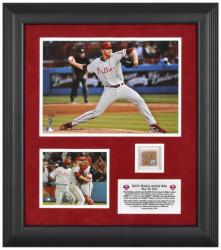 "Roy Halladay Philadelphia Phillies Perfect Game Framed 8"" x 10"" Photograph with Stadium Dirt - Limited Edition of 500 - Mounted Memories"