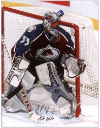 "Colorado Avalanche Patrick Roy Autographed 16"" x 20"" Photo --"