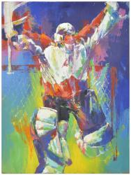 Roy, Patrick Original Artwork