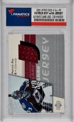 Patrick Roy Colorado Avalanche 2003 Upper Deck # GJ-PR Trading Card with Game-Used Jersey