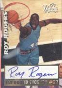 Roy Rogers Alabama - Vancouver Grizzlies 1997 Scoreboard Visions Signings Autographed Card - Certified Autograph - Rookie Card.  This item comes with a certificate of authenticity from Autograph-Sports. Autographed
