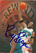 Roy Rogers autographed Basketball Card (Vancouver Grizzlies) 1997 Fleer #9