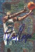 Roy Rogers Vancouver Grizzlies 1996 Fleer Metal Fresh Foundations Foil Autographed Card - Nice Card.  This item comes with a certificate of authenticity from Autograph-Sports. Autographed