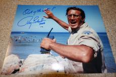 Roy Scheider Signed Autographed Jaws Photo Private Signing! Out Of The Water!!!