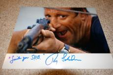 Roy Scheider Signed Autographed Jaws Photo Private Signing!!! Smile You S.o.b.!!