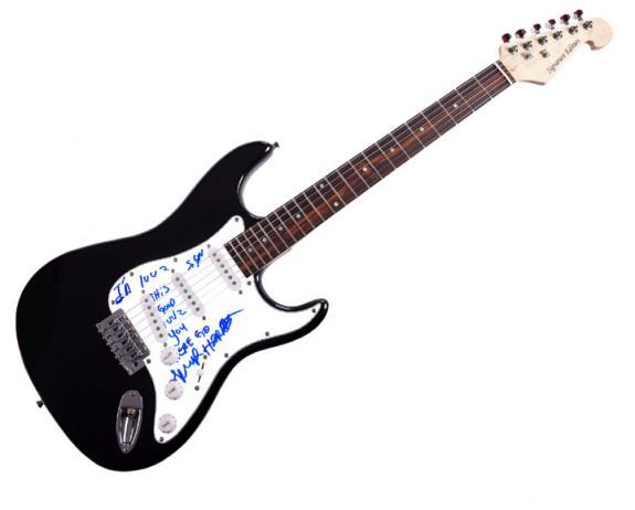 Royal Trux Autographed & Signed Electric Guitar Uacc Rd COA AFTAL