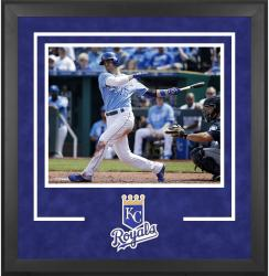 "Kansas City Royals Deluxe 16"" x 20"" Horizontal Photograph Frame - Mounted Memories"