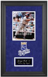 "Kansas City Royals Deluxe 8"" x 10"" Team Logo Frame - Mounted Memories"