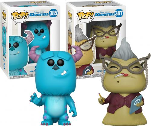 Roz and Sully Monsters Inc. Funko Pop! Bundle