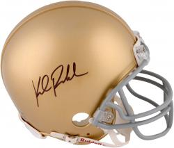 Kyle Rudolph Notre Dame Fighting Irish Autographed Riddell Mini Helmet - Mounted Memories  - Mounted Memories